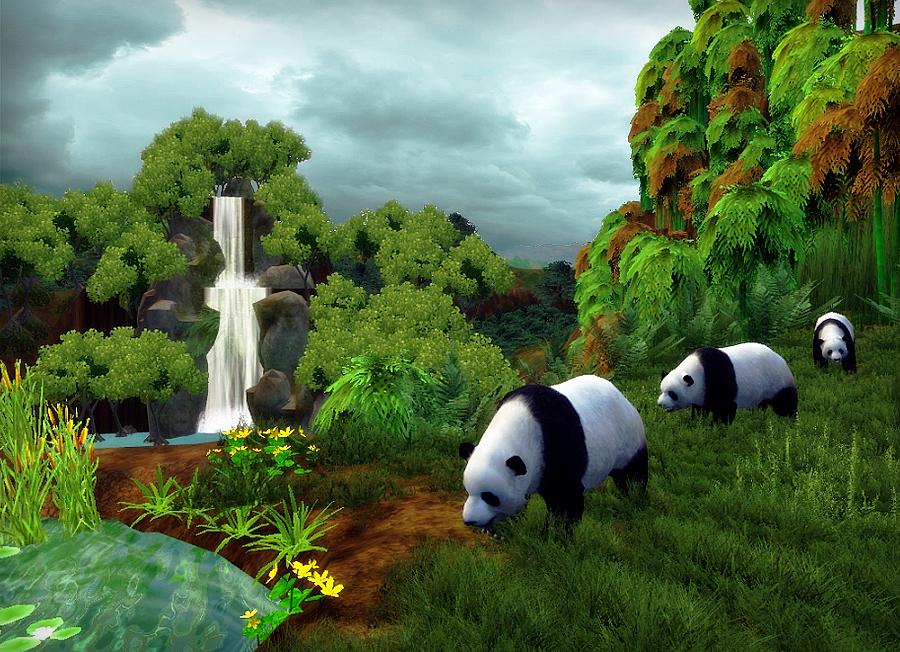 Remake del Panda Gigante de Radical Remake  Hecho por el equipo Aurora    Zoo Tycoon 2 Radical Remake Biomes